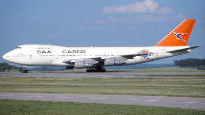 ZS-SAR - Boeing 747-244B(SF) - South African Airways