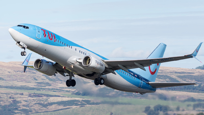 A picture of GTAWC - Boeing 7378K5 - TUI fly - © Kyle McKinlay