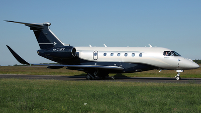 N670EE - Embraer EMB-550 Praetor 600 - Private