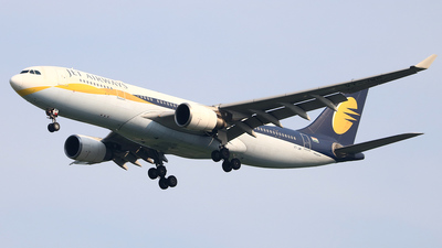 VT-JWP - Airbus A330-202 - Jet Airways