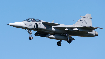 39292 - Saab JAS-39C Gripen - Sweden - Air Force