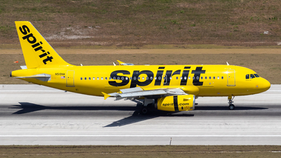 A picture of N519NK - Airbus A319132 - Spirit Airlines - © Marcel Hohl