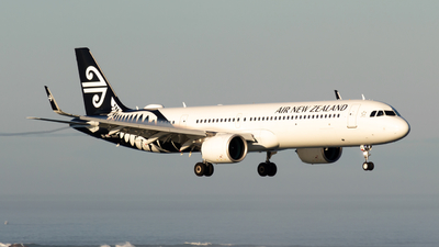 ZK-NNC - Airbus A321-271NX - Air New Zealand