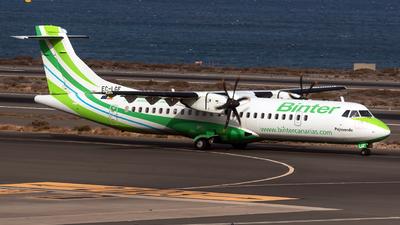 A picture of ECLGF - ATR 72500 - Binter Canarias - © Roman Valladares