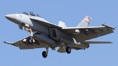 166853 - McDonnell Douglas F/A-18F Hornet - United States - US Navy (USN)