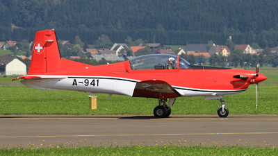 A-941 - Pilatus PC-7 - Switzerland - Air Force