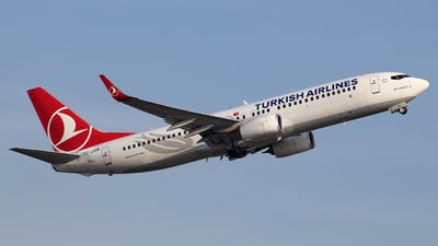 A picture of TCJVN - Boeing 7378F2 - Turkish Airlines - © wangruoyao