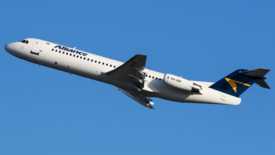 VH-UQF - Fokker 100 - Alliance Airlines