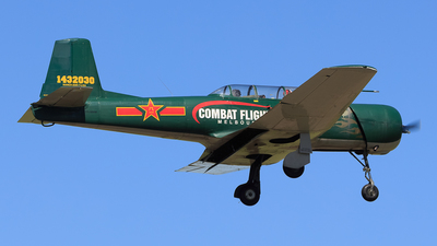 VH-NNM - Nanchang CJ-6A - Warbird Adventure Flights