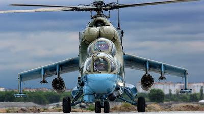 RF-91072 - Mil Mi-24P Hind F - Russia - Air Force