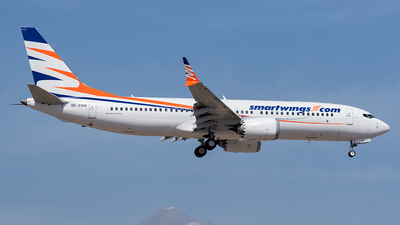 A picture of OKSWB - Boeing 737 MAX 8 - Smartwings - © Hector Jose Perestelo