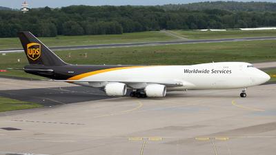 N612UP - Boeing 747-84AF - United Parcel Service (UPS)