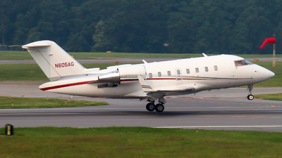 N605AG - Bombardier CL-600-2B16 Challenger 605 - Private