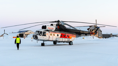 RA-25608 - Mil Mi-8T Hip - Naryan-Mar Air Enterprise