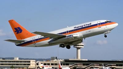 D-AHLH - Boeing 737-2K5(Adv) - Hapag-Lloyd