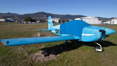 ZK-DKX - Grumman American AA-1B Trainer - Private
