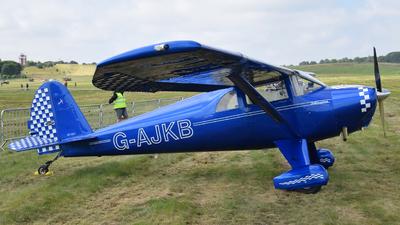 G-AJKB - Luscombe 8E Silvaire Deluxe - Private