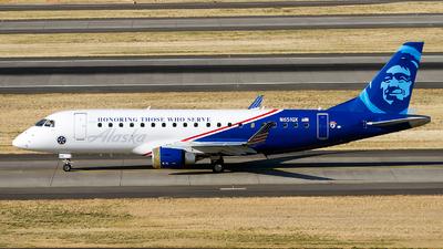 A picture of N651QX - Embraer E175LR - Alaska Airlines - © Geoff Landes