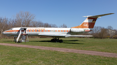 DDR-SCZ - Tupolev Tu-134A - Interflug