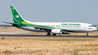 YI-AST - Boeing 737-81Z - Iraqi Airways
