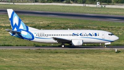 A picture of UPB3712 - Boeing 73735B - SCAT - © Damir Kagarmanov-Kazakhstan Spotting Club