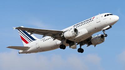 A picture of FGRHR - Airbus A319111 - Air France - © Fernando Roca