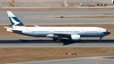 B-HNB - Boeing 777-267 - Cathay Pacific Airways