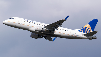 A picture of N657RW - Embraer E170SE - United Airlines - © Evan Dougherty