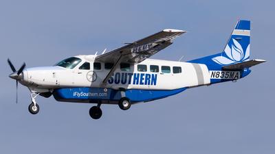 A picture of N835MA - Cessna 208B Grand Caravan - Mokulele Airlines - © Evan Dougherty