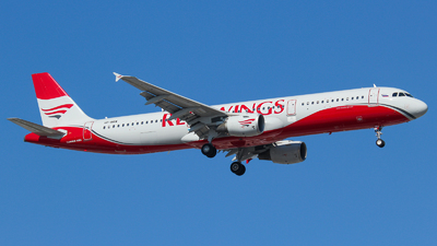 VP-BRW - Airbus A321-211 - Red Wings