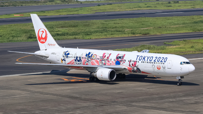 A picture of JA601J - Boeing 767346(ER) - Japan Airlines - © ryu330