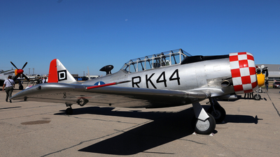 N420RK - North American AT-6D Texan - Private