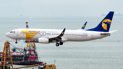 EI-CSG - Boeing 737-8AS - MIAT Mongolian Airlines