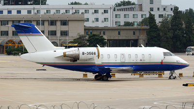 B-3566 - Bombardier CL-600-2B16 Challenger 605 - Business Aviation Asia