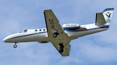 PH-SVZ - Cessna 550 Citation II - Slagboom & Peeters Aerial Photography