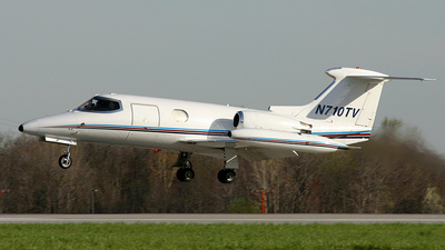 N710TV - Gates Learjet 24 - Royal Air Freight
