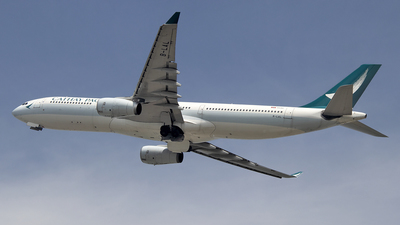 A picture of BLAL - Airbus A330343 - Cathay Pacific - © Paul Spijkers