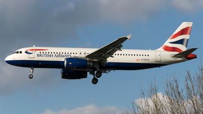 G-EUYG - Airbus A320-232 - British Airways