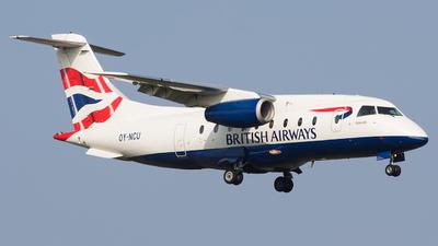 OY-NCU - Dornier Do-328-300 Jet - British Airways (Sun-Air)