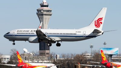 B-5443 - Boeing 737-89L - Beijing Airlines