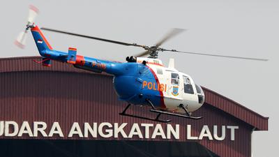 P-1110 - MBB Bo105CB - Indonesia - Police