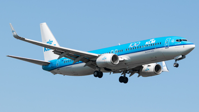 A picture of PHBXL - Boeing 7378K2 - KLM - © Frankie A Said
