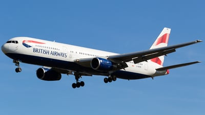 G-BZHB - Boeing 767-336(ER) - British Airways
