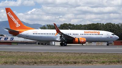 A picture of CGFEH - Boeing 7378GS - Sunwing Airlines - © Juan Manuel Galvez
