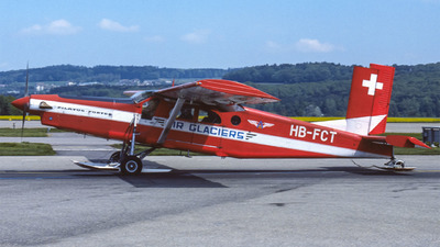 HB-FCT - Pilatus PC-6/B2-H2 Turbo Porter - Air Glaciers