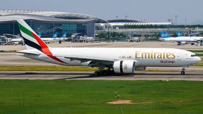 A picture of A6EFO - Boeing 777F1H - Emirates - © ZGGG-Highwing