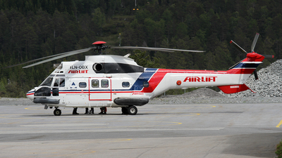 LN-OBX - Aérospatiale AS 332 Super Puma - Airlift