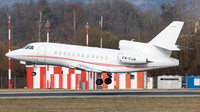 A picture of P4FJA - Dassault Falcon 900DX - [616] - © Alexandre Fazan