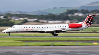 A picture of GSAJN - Embraer ERJ145EP - Loganair - © Kyle McKinlay