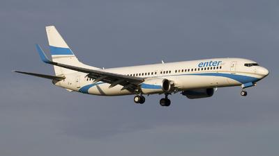 SP-ENO - Boeing 737-8CX - Enter Air
